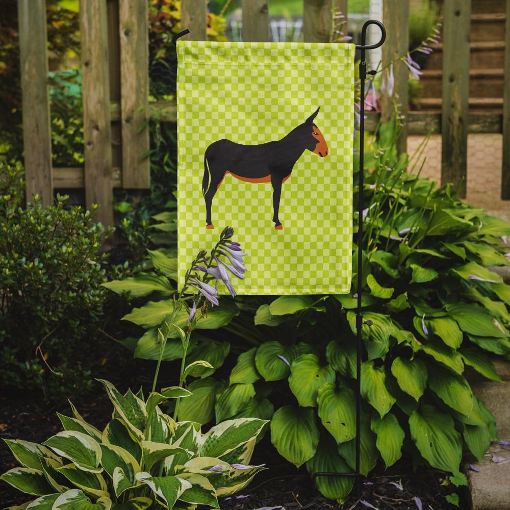 Buy this Catalan Donkey Green Flag Garden Size