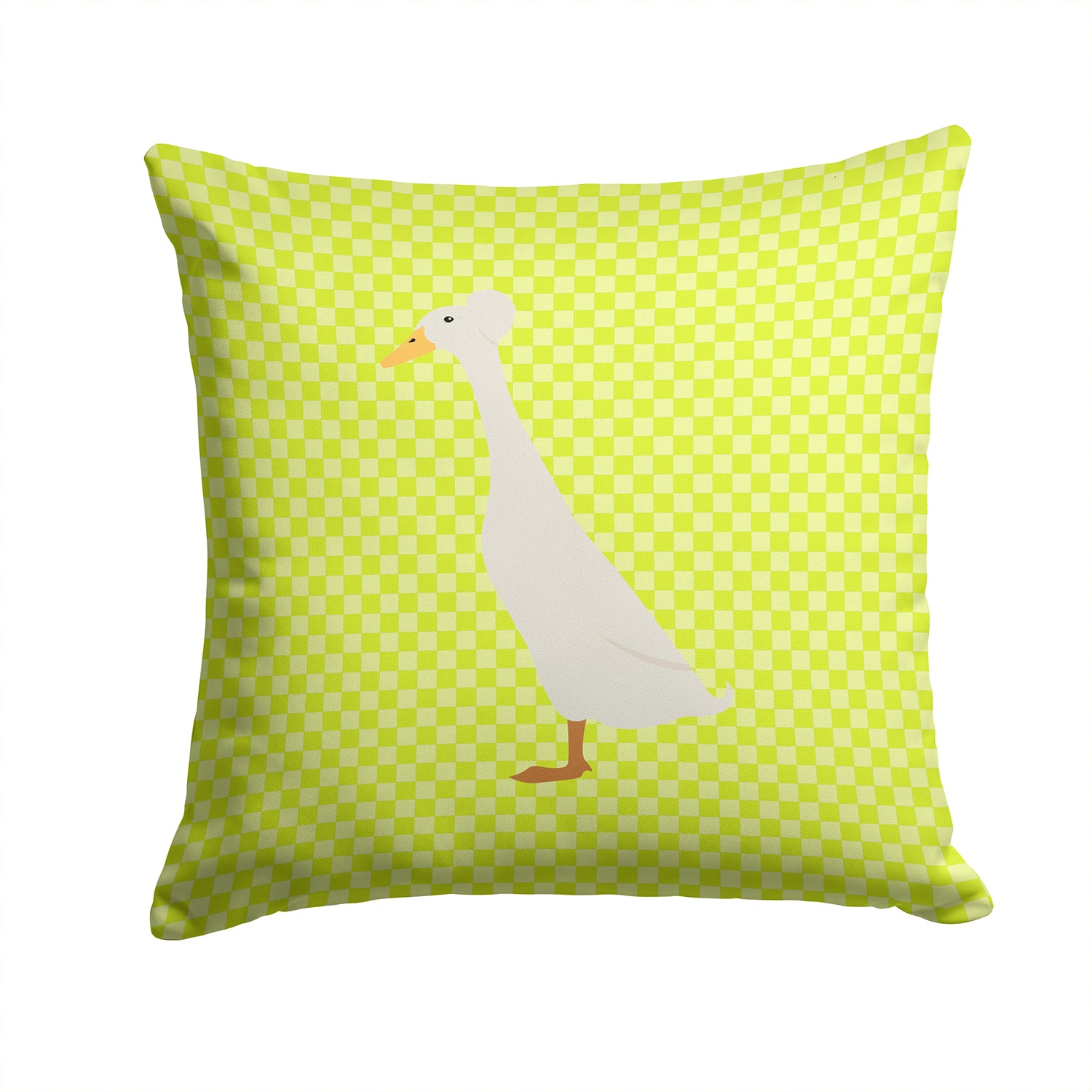 Bali Duck Green Fabric Decorative Pillow BB7685PW1414 by Caroline's Treasures