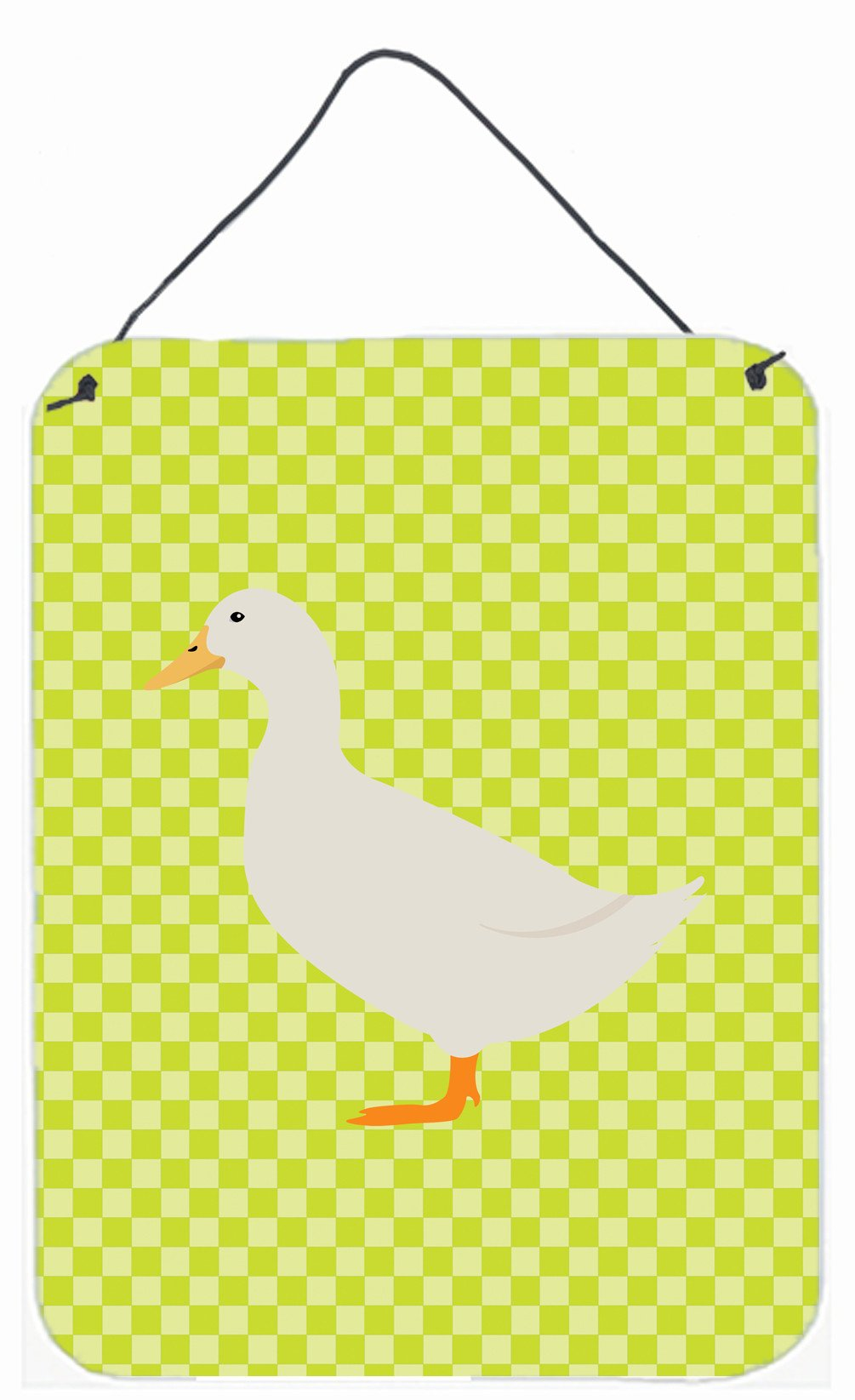 American Pekin Duck Green Wall or Door Hanging Prints BB7686DS1216 by Caroline's Treasures