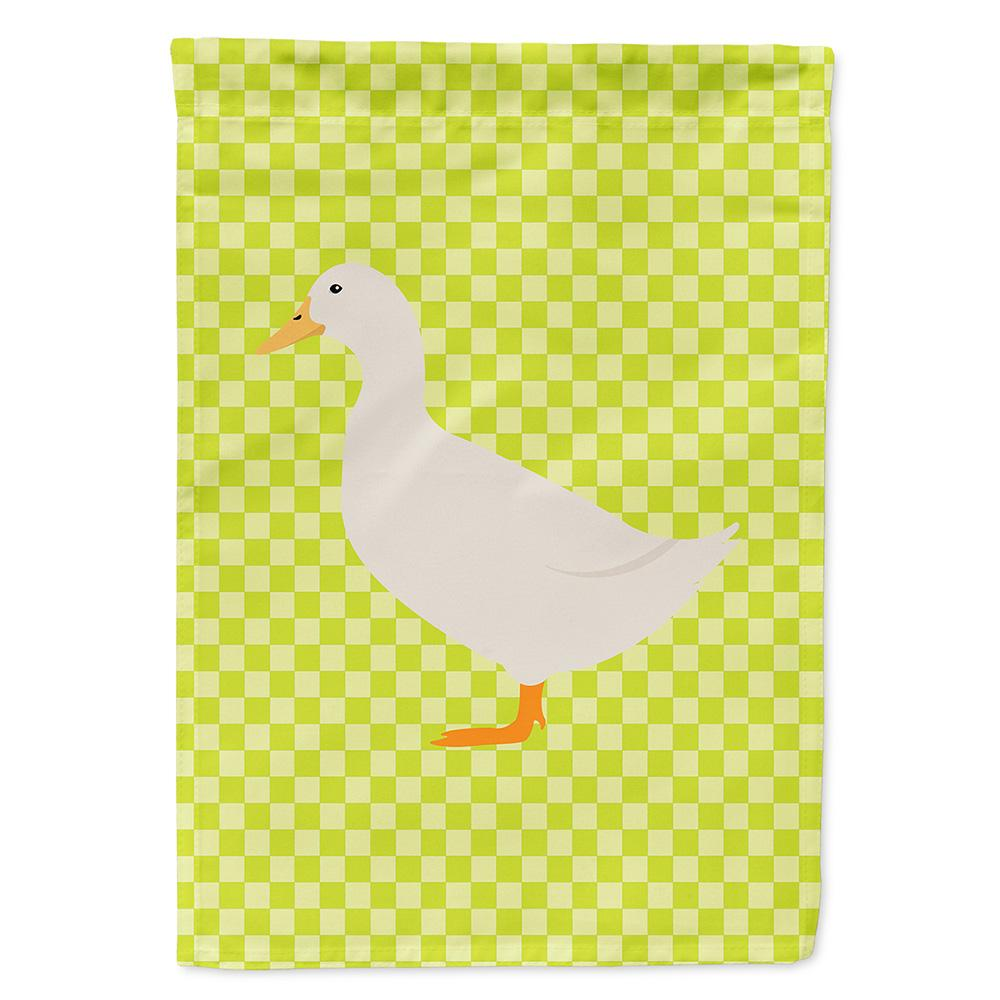 American Pekin Duck Green Flag Garden Size by Caroline's Treasures