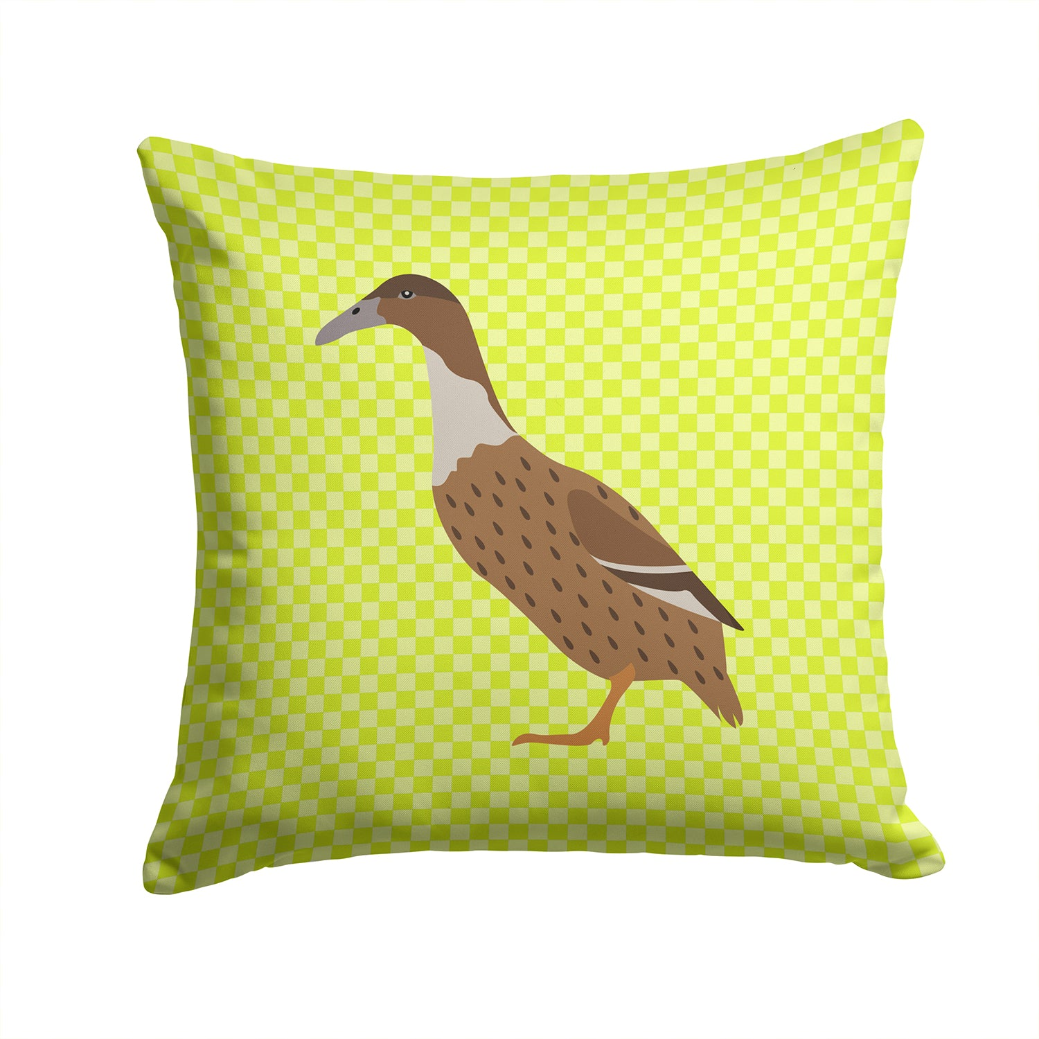 Buy this Dutch Hook Bill Duck Green Fabric Decorative Pillow BB7687PW1414