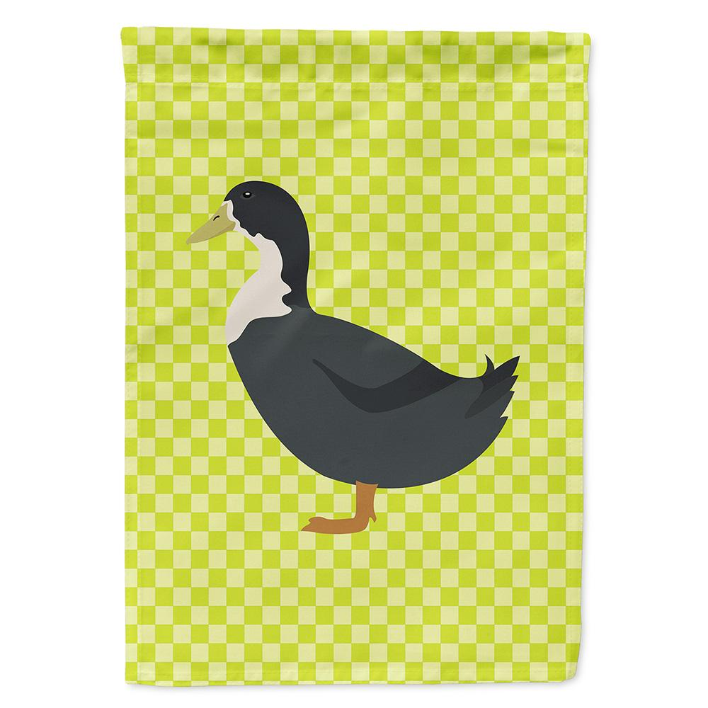 Blue Swedish Duck Green Flag Garden Size by Caroline's Treasures