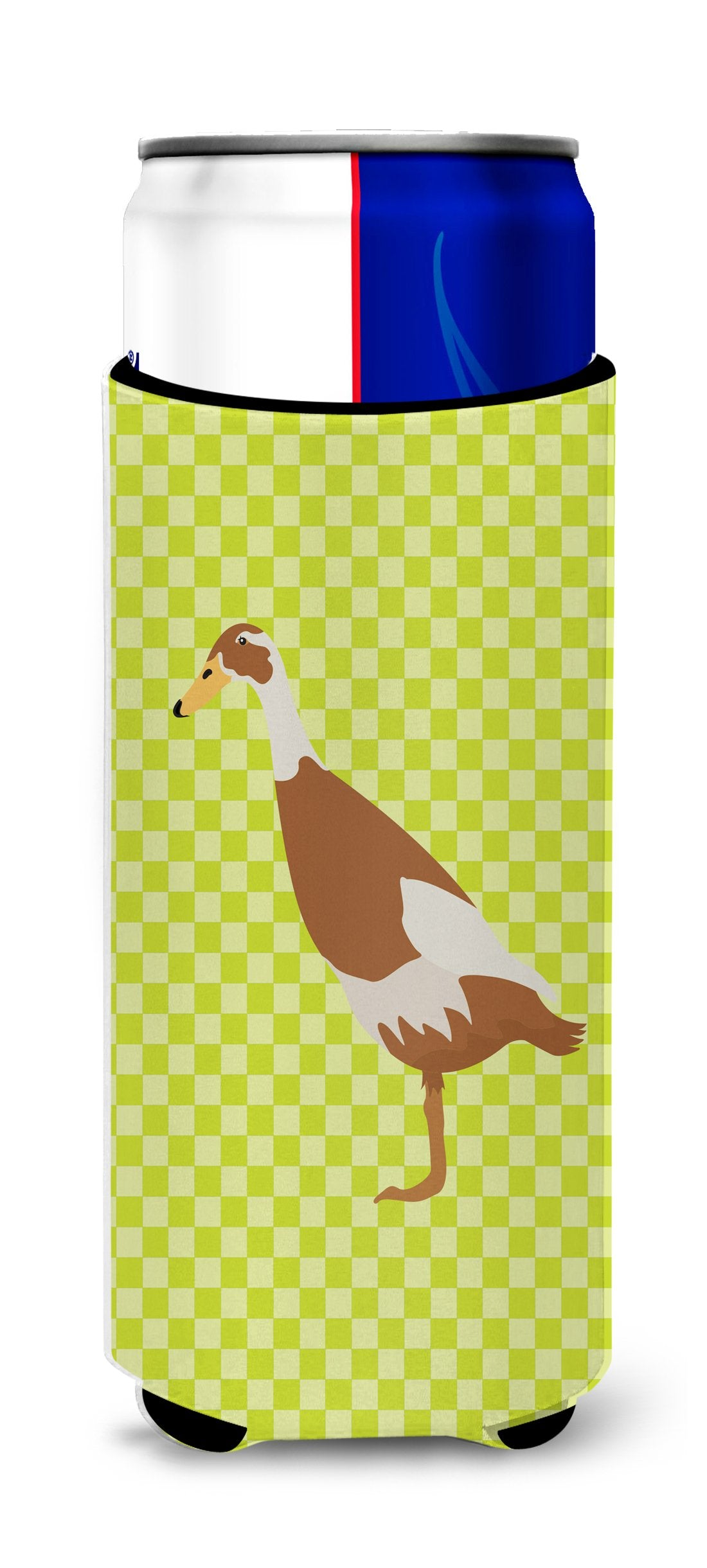 Indian Runner Duck Green Michelob Ultra Hugger for slim cans by Caroline's Treasures