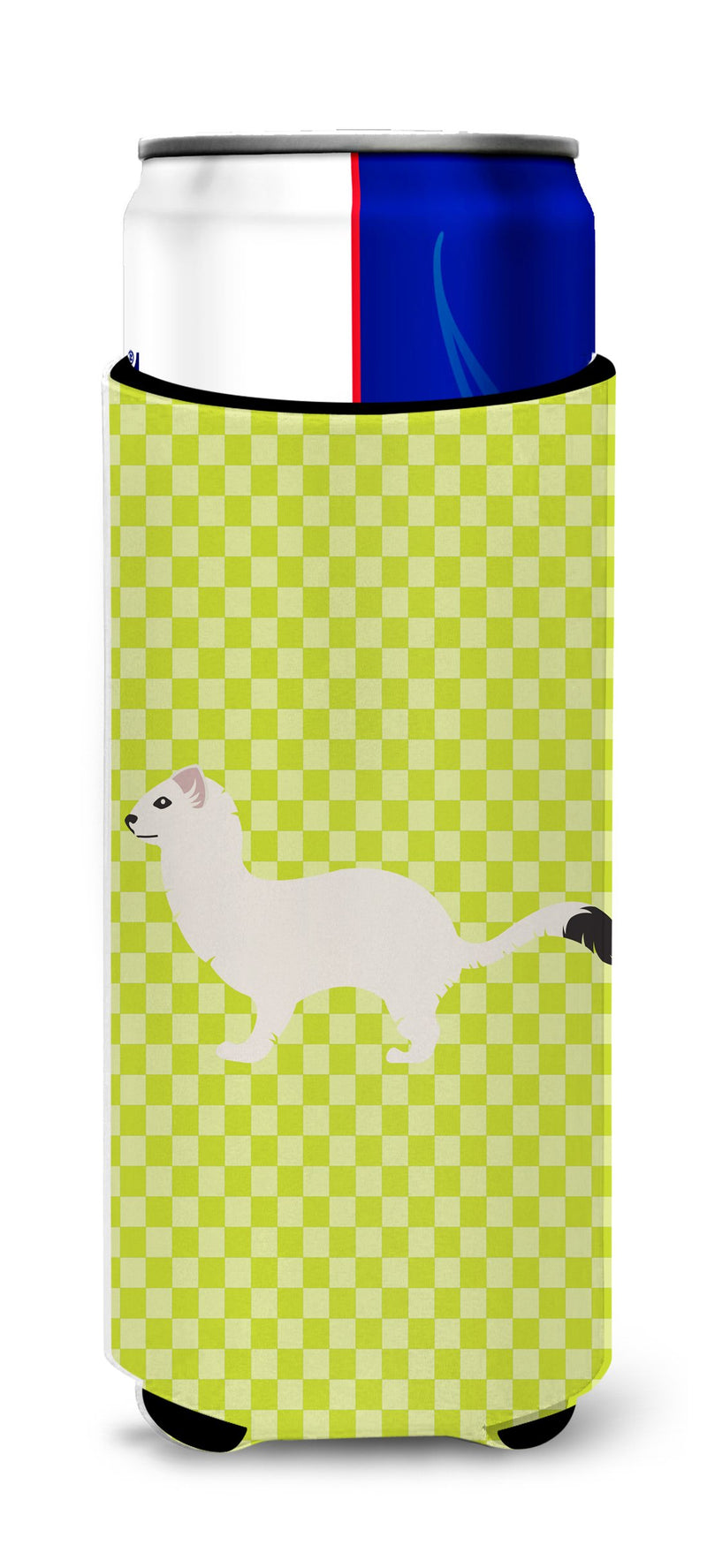 Buy this Stoat Short-tailed Weasel Green Michelob Ultra Hugger for slim cans
