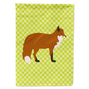 Buy this Red Fox Green Flag Garden Size