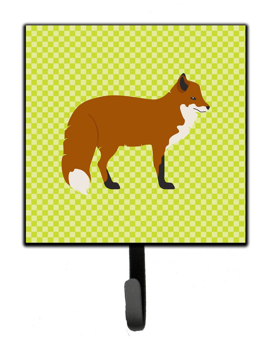 Buy this Red Fox Green Leash or Key Holder