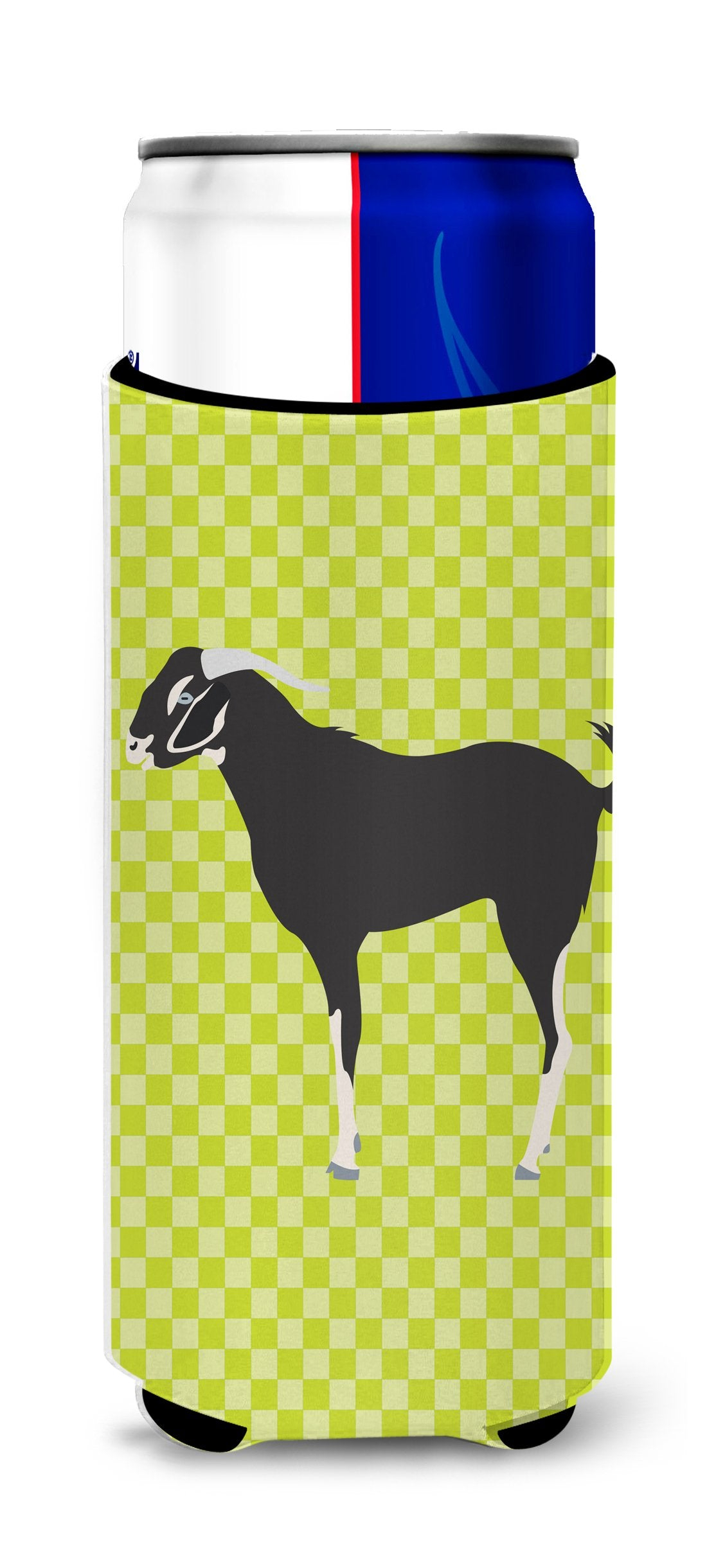 Buy this Black Bengal Goat Green Michelob Ultra Hugger for slim cans