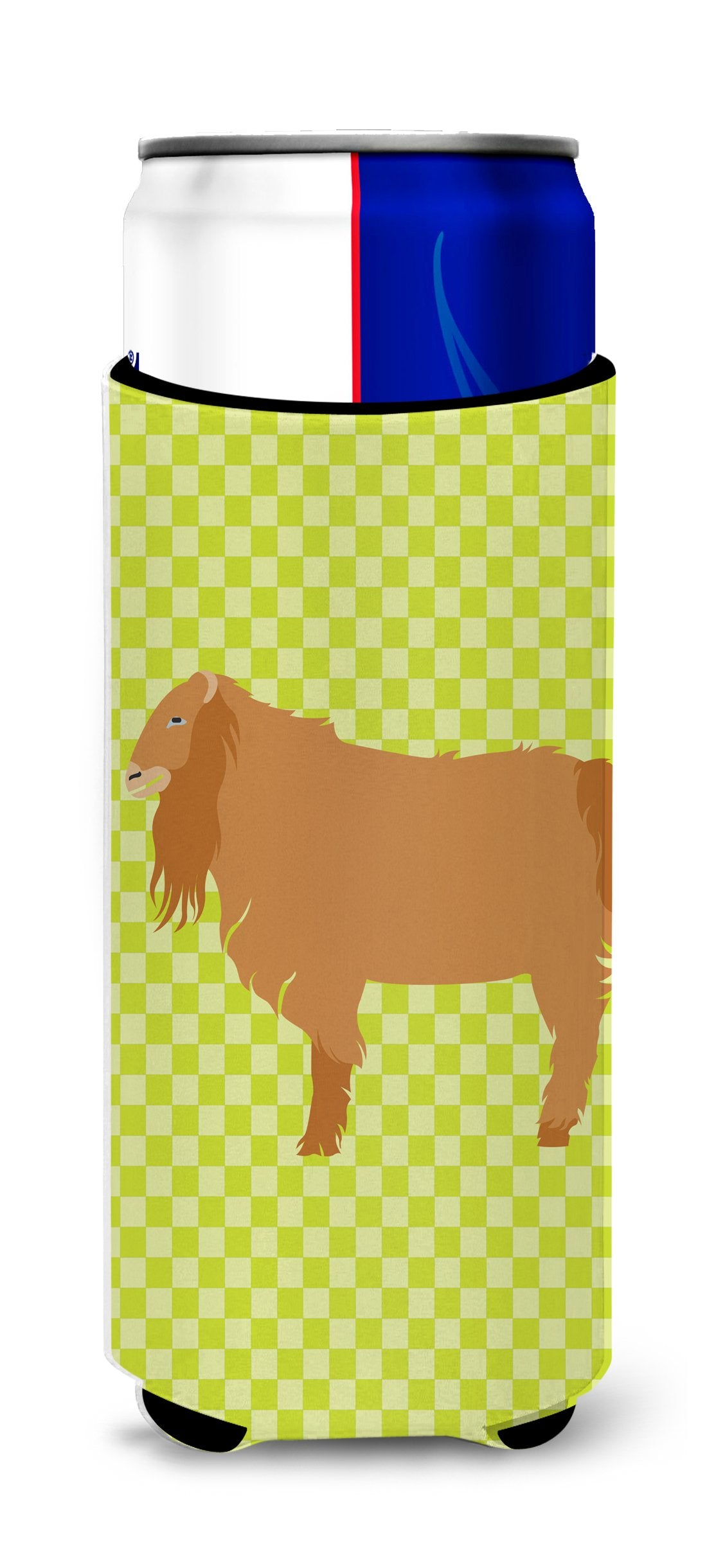 Buy this American Lamancha Goat Green Michelob Ultra Hugger for slim cans