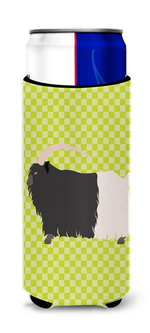 Buy this Welsh Black-Necked Goat Green Michelob Ultra Hugger for slim cans