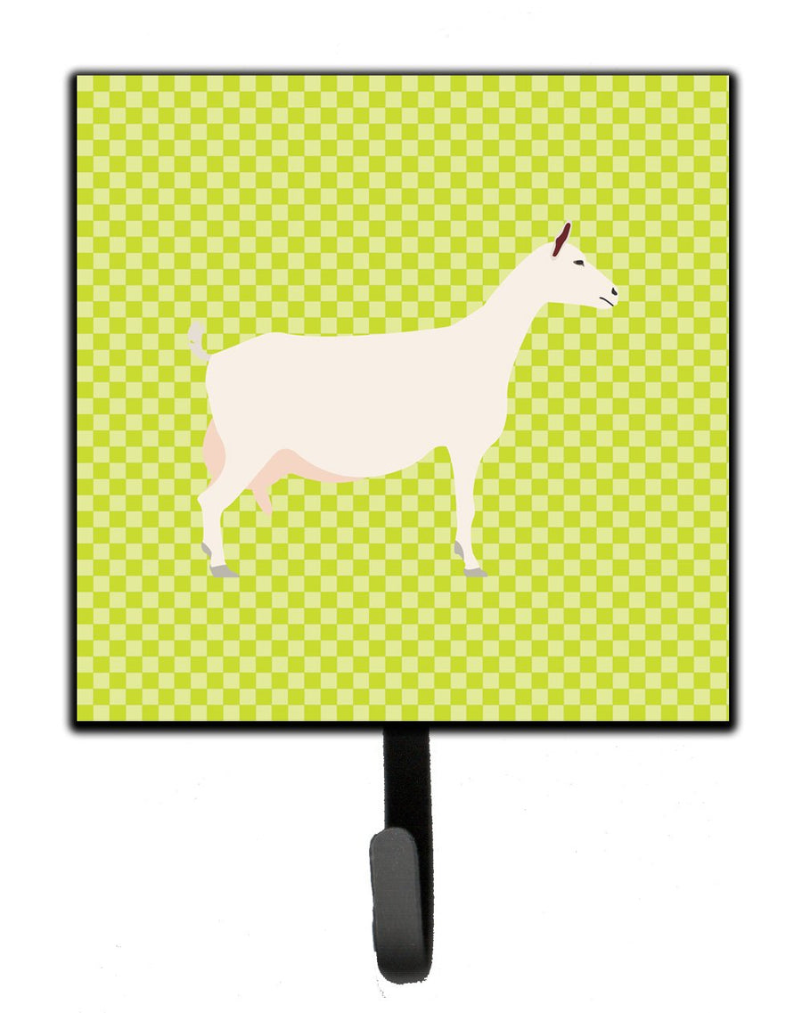 Buy this Saanen Goat Green Leash or Key Holder