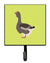 Buy this Toulouse Goose Green Leash or Key Holder