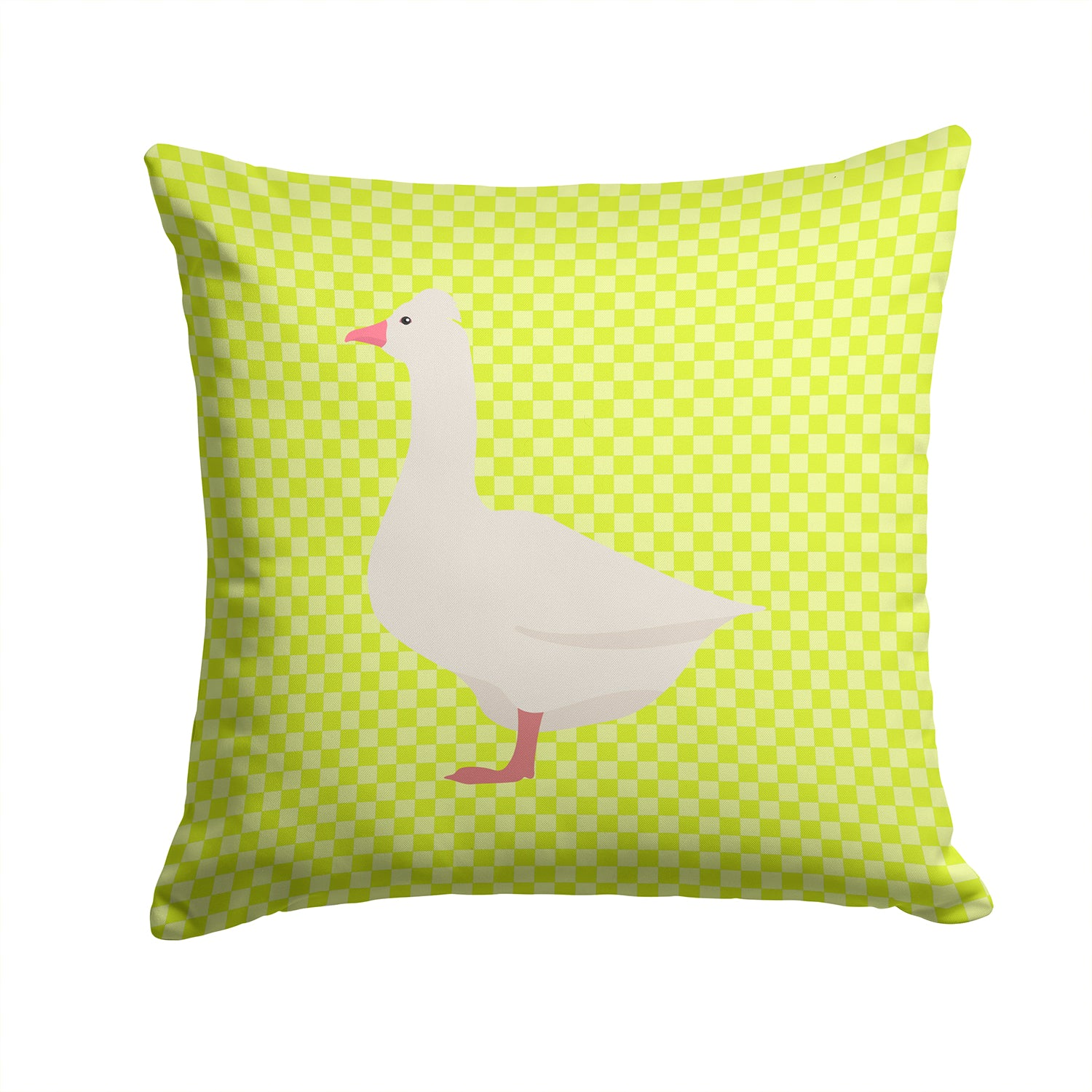 Buy this Roman Goose Green Fabric Decorative Pillow BB7724PW1414