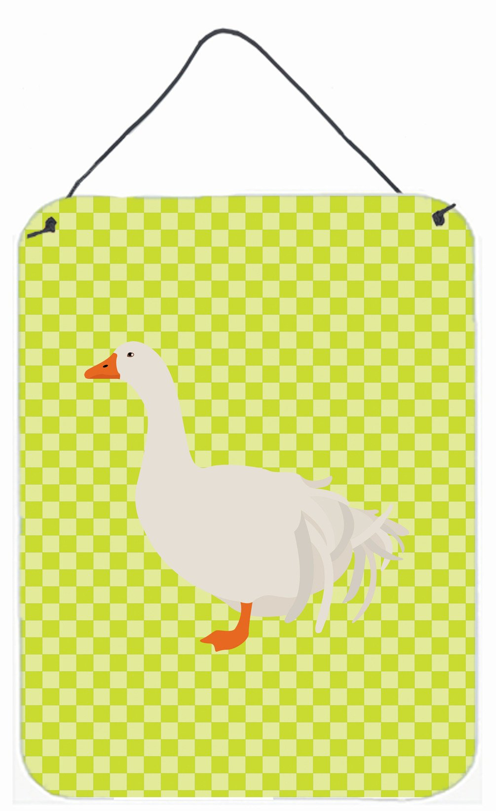 Sebastopol Goose Green Wall or Door Hanging Prints BB7728DS1216 by Caroline's Treasures