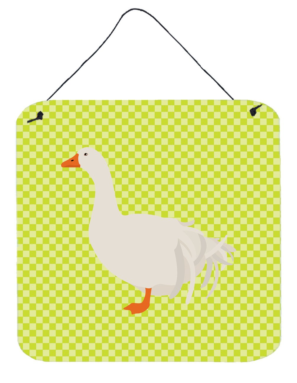 Sebastopol Goose Green Wall or Door Hanging Prints BB7728DS66 by Caroline's Treasures