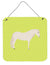 Paso Fino Horse Green Wall or Door Hanging Prints BB7731DS66 by Caroline's Treasures