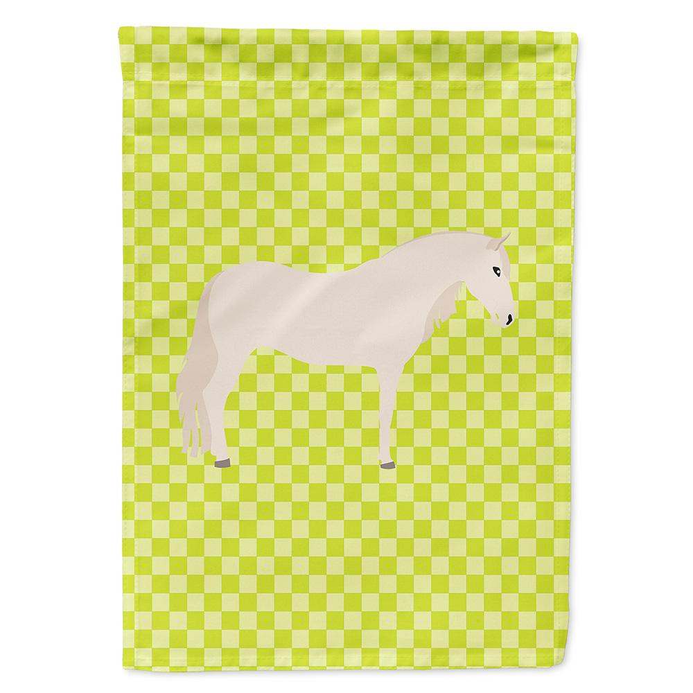 Paso Fino Horse Green Flag Garden Size by Caroline's Treasures