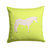 Paso Fino Horse Green Fabric Decorative Pillow BB7731PW1414 by Caroline's Treasures