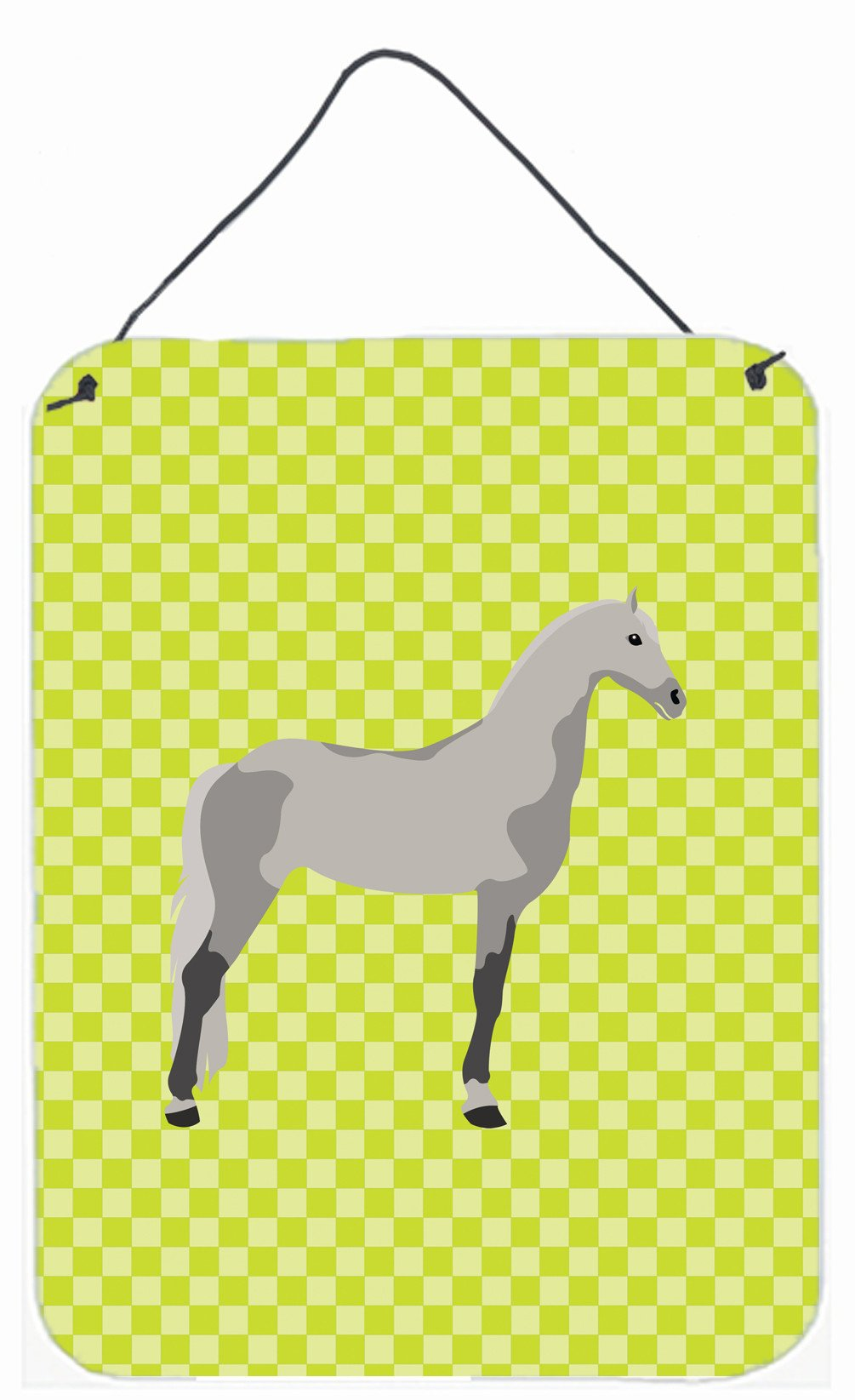 Buy this Orlov Trotter Horse Green Wall or Door Hanging Prints BB7734DS1216