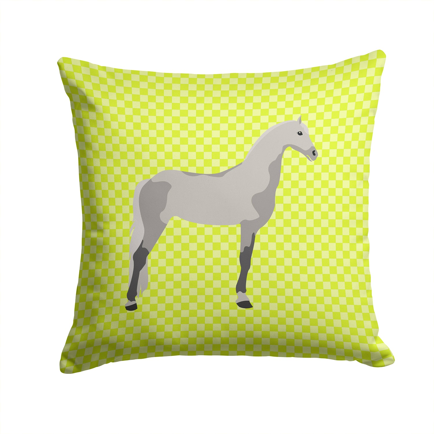Buy this Orlov Trotter Horse Green Fabric Decorative Pillow BB7734PW1414