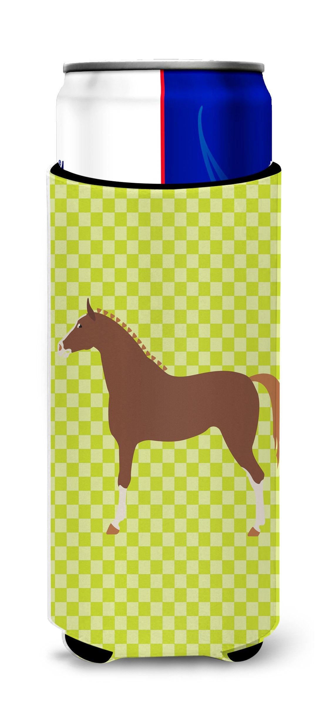 Buy this Hannoverian Horse Green Michelob Ultra Hugger for slim cans