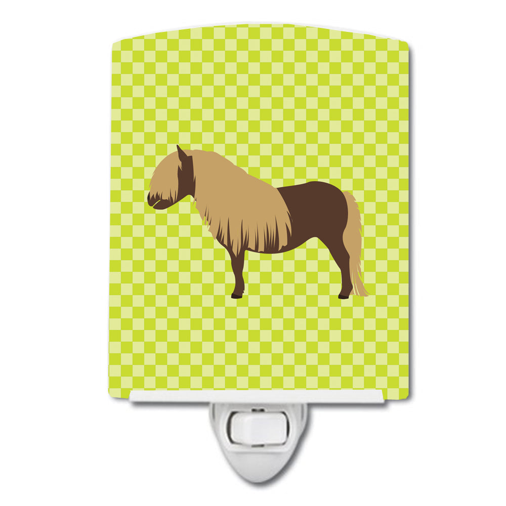 Shetland Pony Horse Green Ceramic Night Light BB7740CNL by Caroline's Treasures