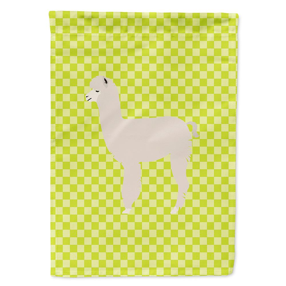 Buy this Alpaca Green Flag Garden Size