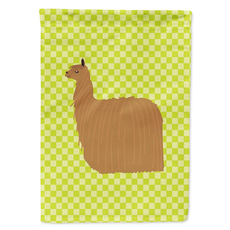 Buy this Alpaca Suri Green Flag Garden Size
