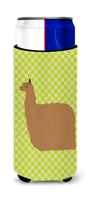 Buy this Alpaca Suri Green Michelob Ultra Hugger for slim cans