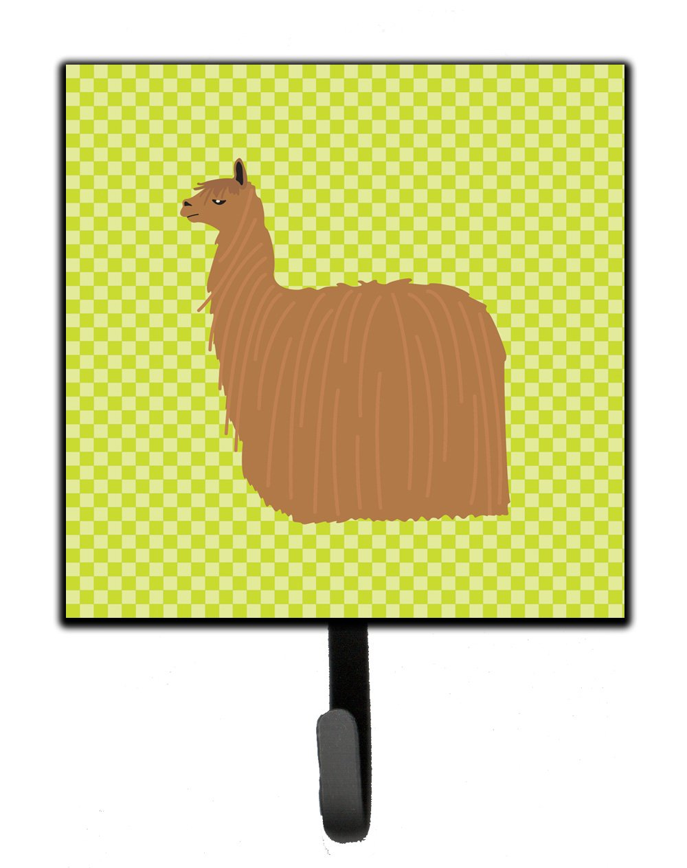 Buy this Alpaca Suri Green Leash or Key Holder