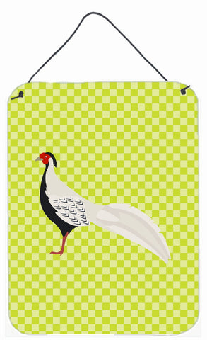 Buy this Silver Pheasant Green Wall or Door Hanging Prints BB7755DS1216