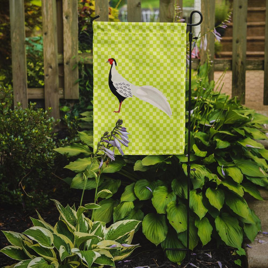 Buy this Silver Pheasant Green Flag Garden Size
