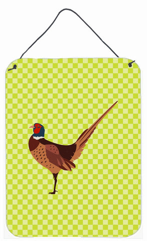 Buy this Ring-necked Common Pheasant Green Wall or Door Hanging Prints BB7756DS1216