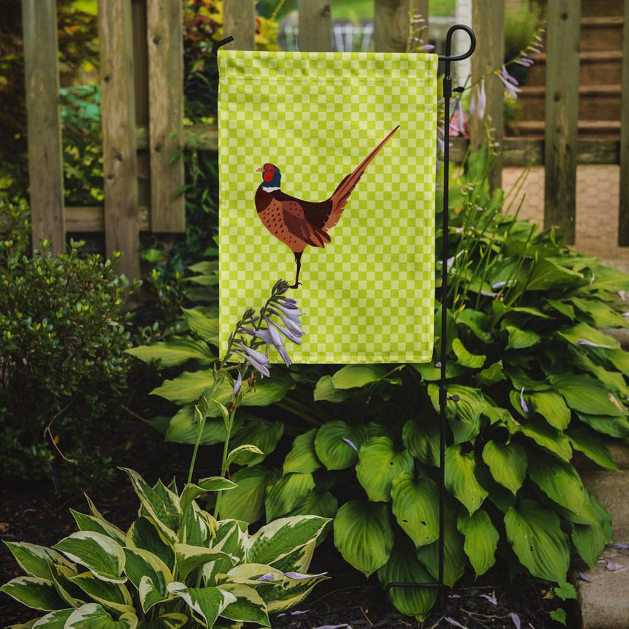 Buy this Ring-necked Common Pheasant Green Flag Garden Size
