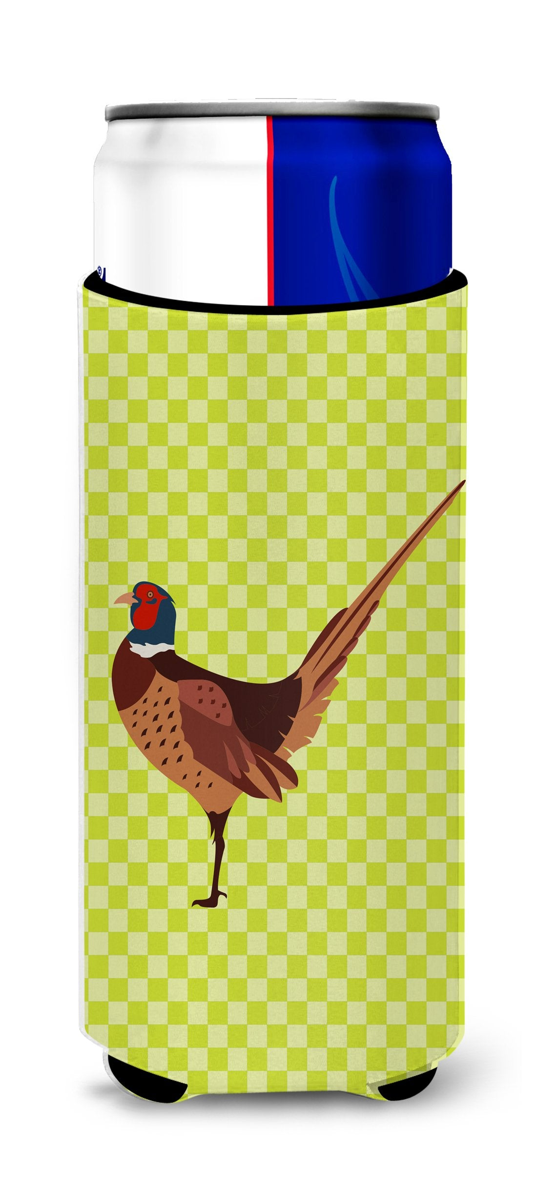 Buy this Ring-necked Common Pheasant Green Michelob Ultra Hugger for slim cans