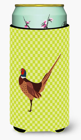 Buy this Ring-necked Common Pheasant Green Tall Boy Beverage Insulator Hugger BB7756TBC