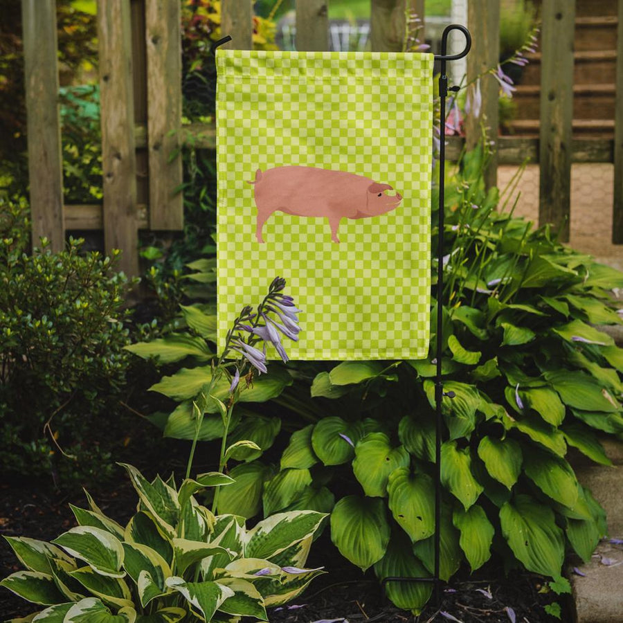 Buy this American Landrace Pig Green Flag Garden Size