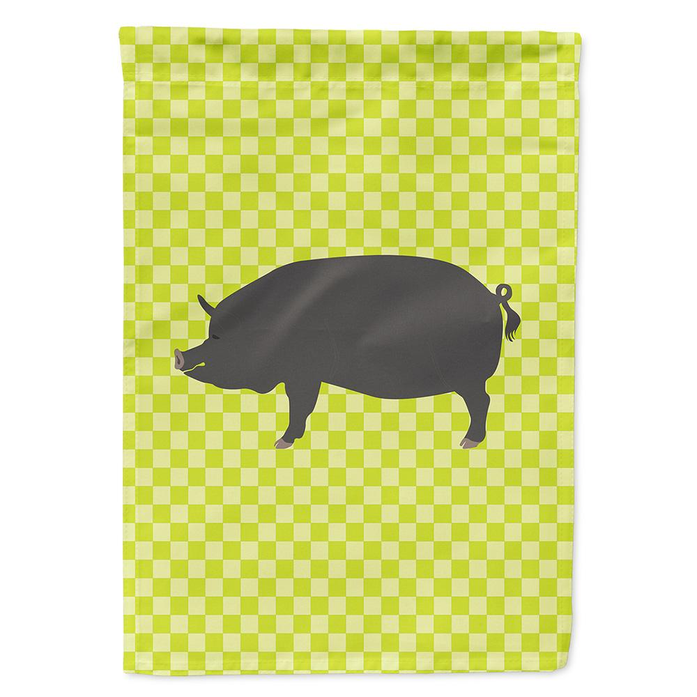 Buy this Berkshire Pig Green Flag Garden Size