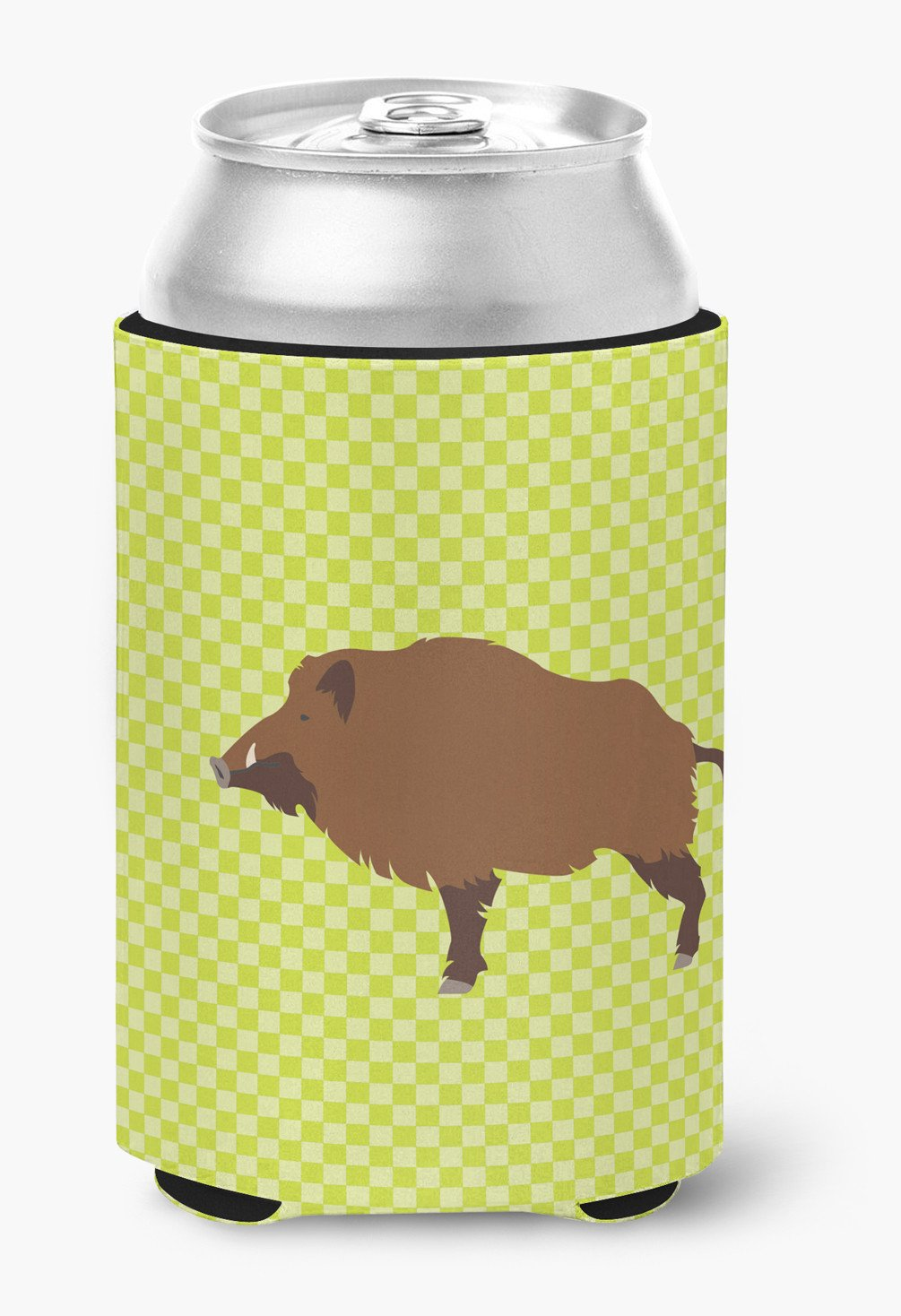 Wild Boar Pig Green Can or Bottle Hugger BB7762CC by Caroline's Treasures