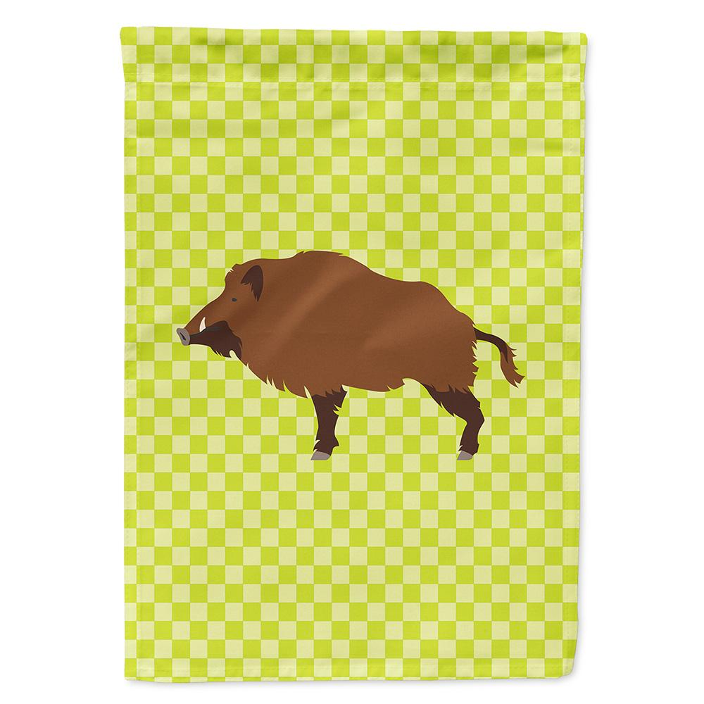 Buy this Wild Boar Pig Green Flag Garden Size