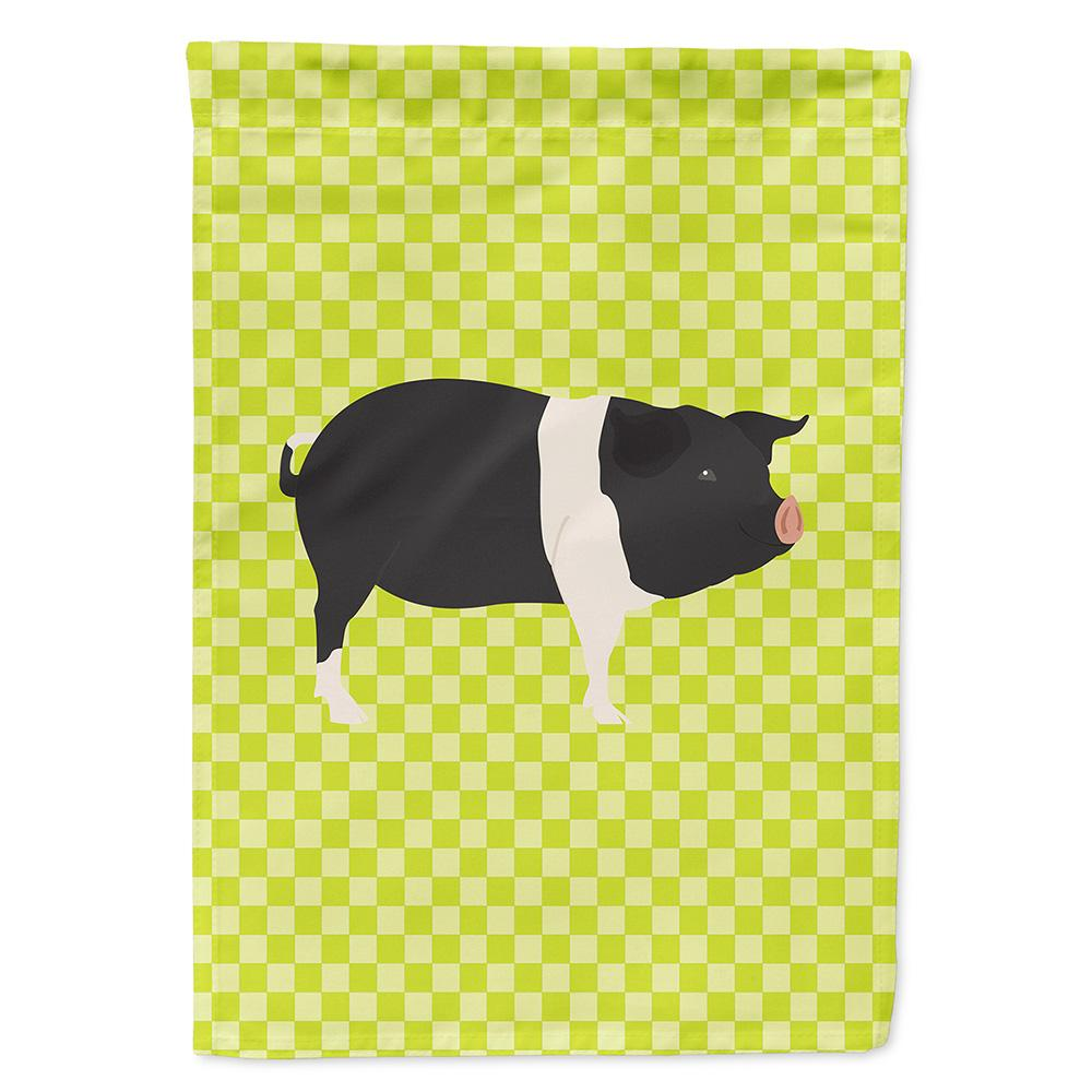 Hampshire Pig Green Flag Garden Size by Caroline's Treasures