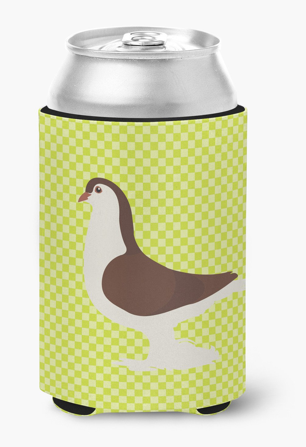 Large Pigeon Green Can or Bottle Hugger BB7769CC by Caroline's Treasures