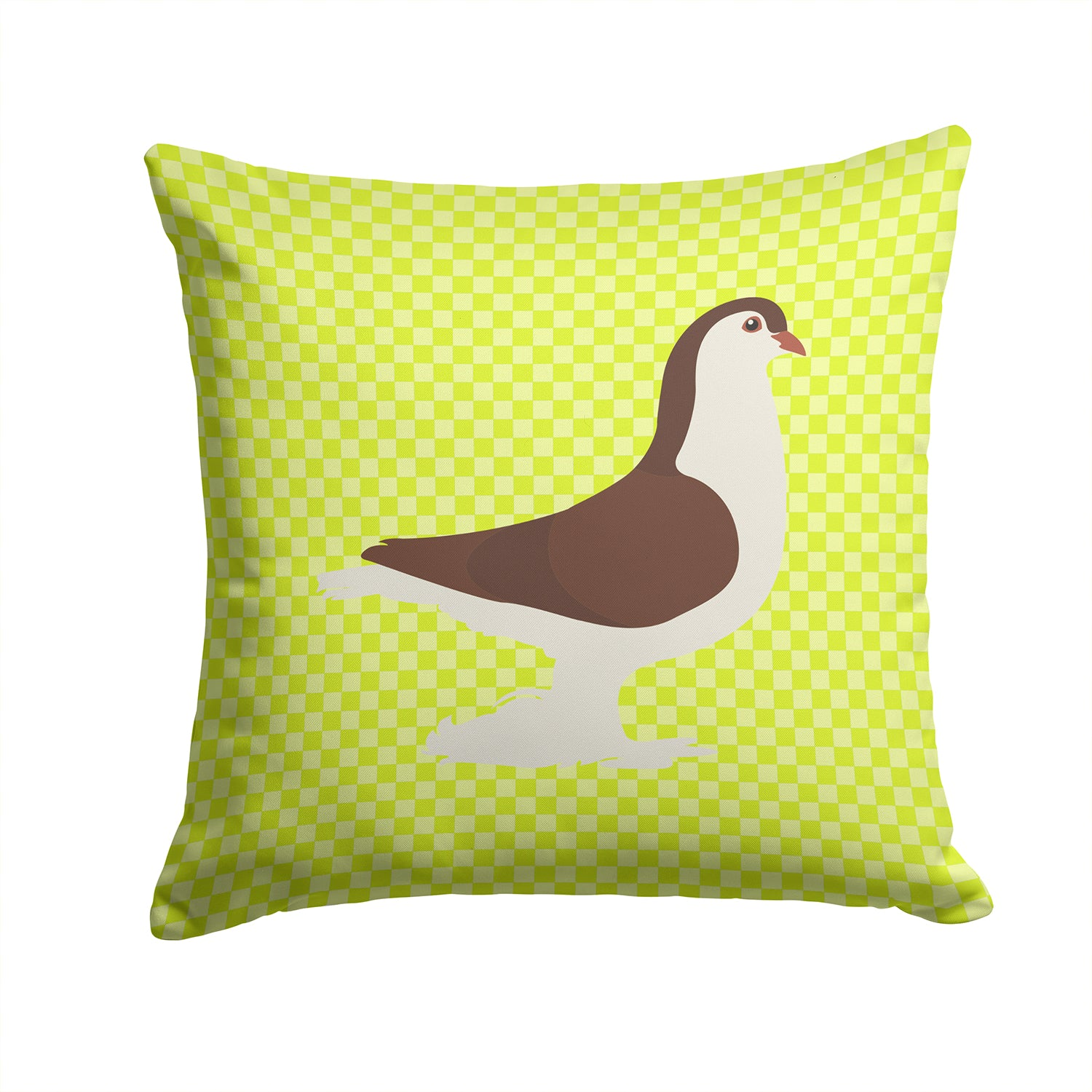 Buy this Large Pigeon Green Fabric Decorative Pillow BB7769PW1414