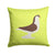 Large Pigeon Green Fabric Decorative Pillow BB7769PW1414 by Caroline's Treasures