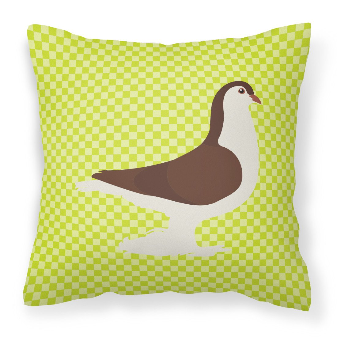 Large Pigeon Green Fabric Decorative Pillow BB7769PW1818 by Caroline's Treasures