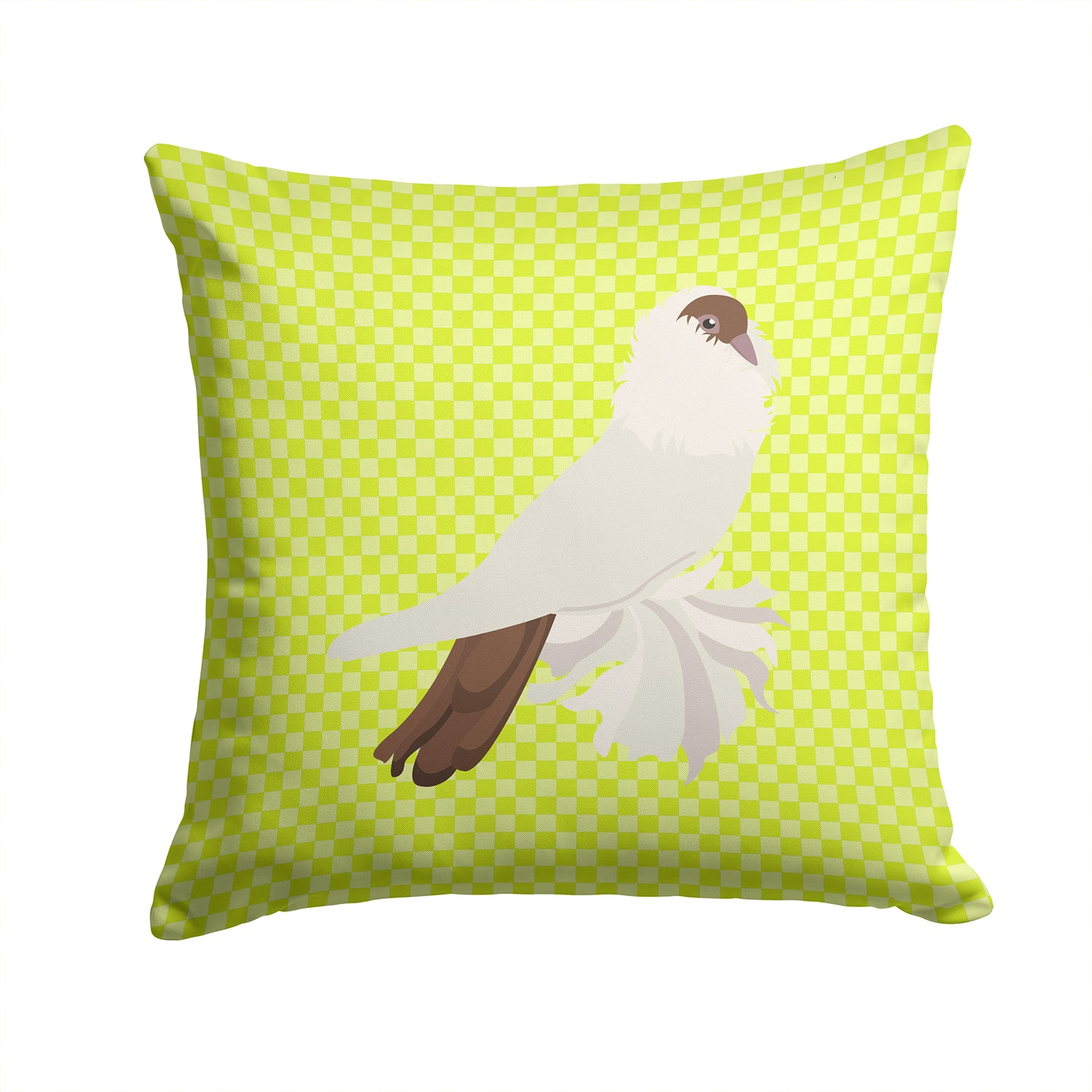 Buy this German Helmet Pigeon Green Fabric Decorative Pillow BB7770PW1414