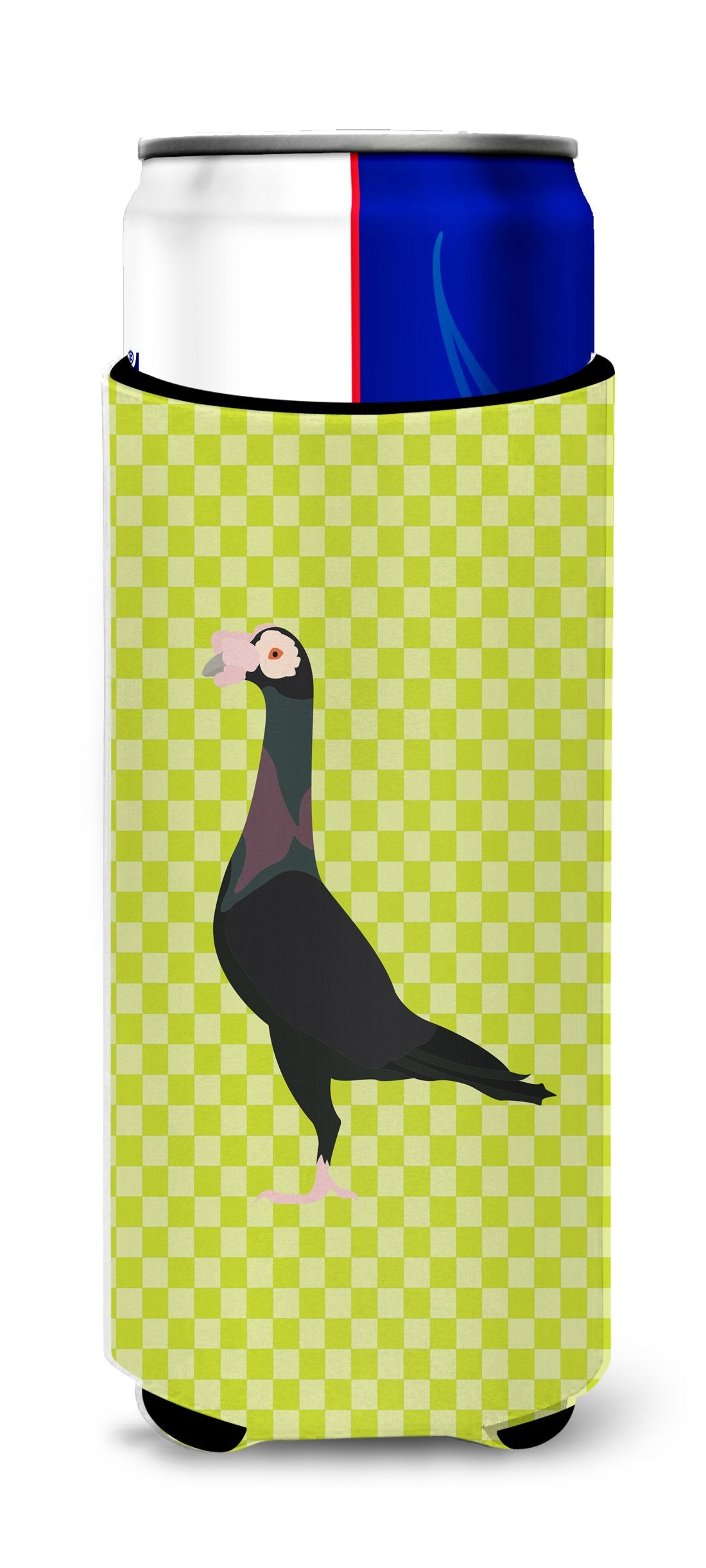 Buy this English Carrier Pigeon Green Michelob Ultra Hugger for slim cans