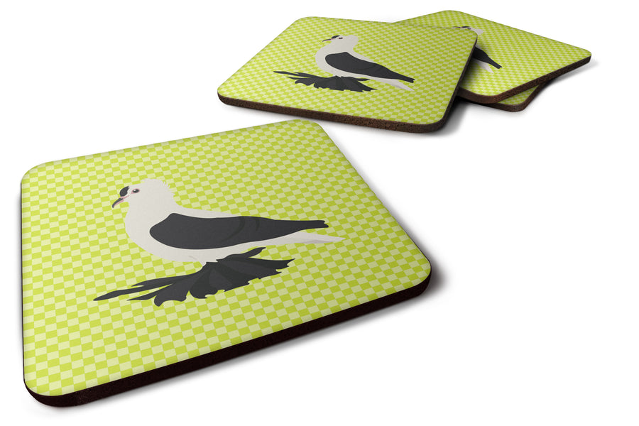 Buy this Saxon Fairy Swallow Pigeon Green Foam Coaster Set of 4 BB7772FC