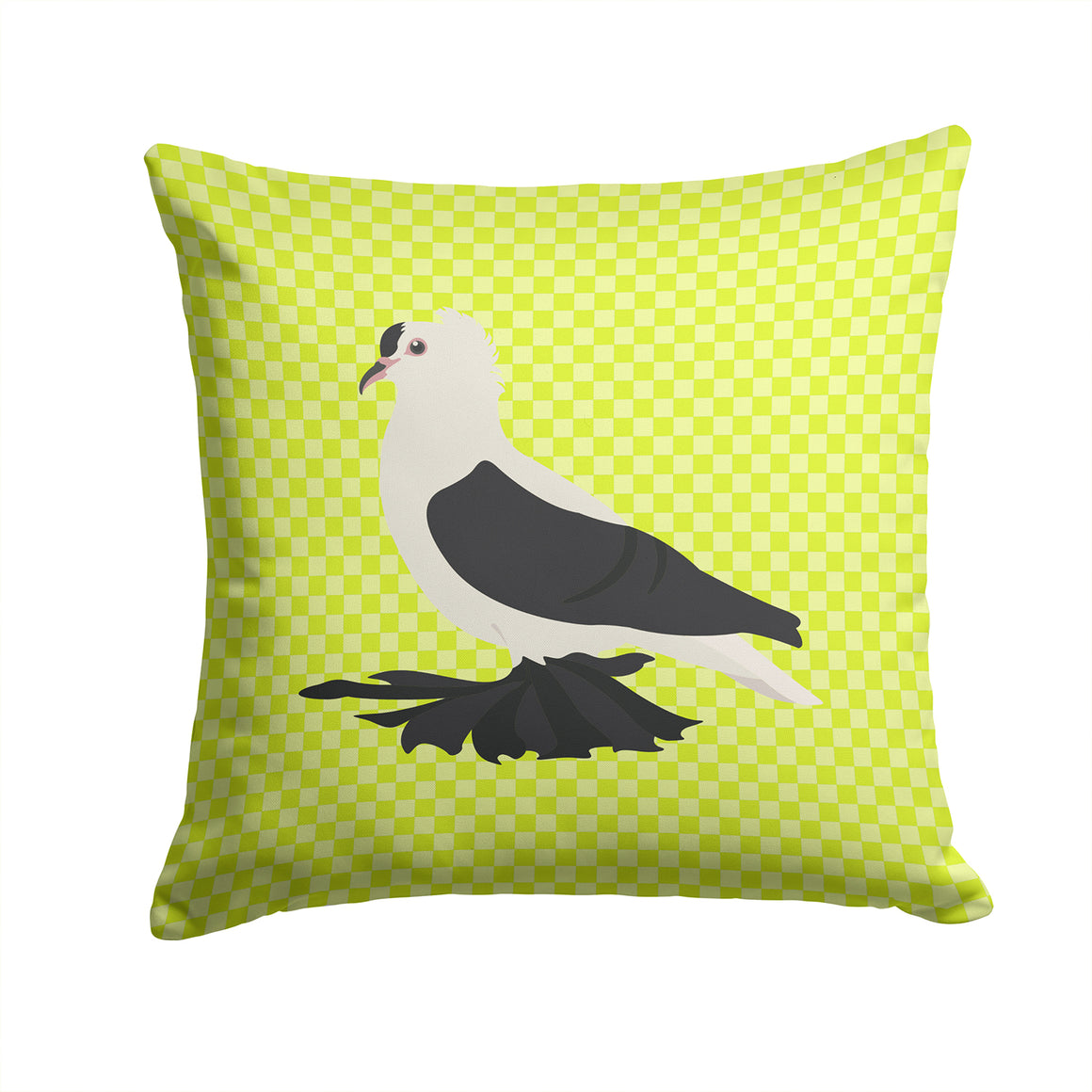 Buy this Saxon Fairy Swallow Pigeon Green Fabric Decorative Pillow BB7772PW1414