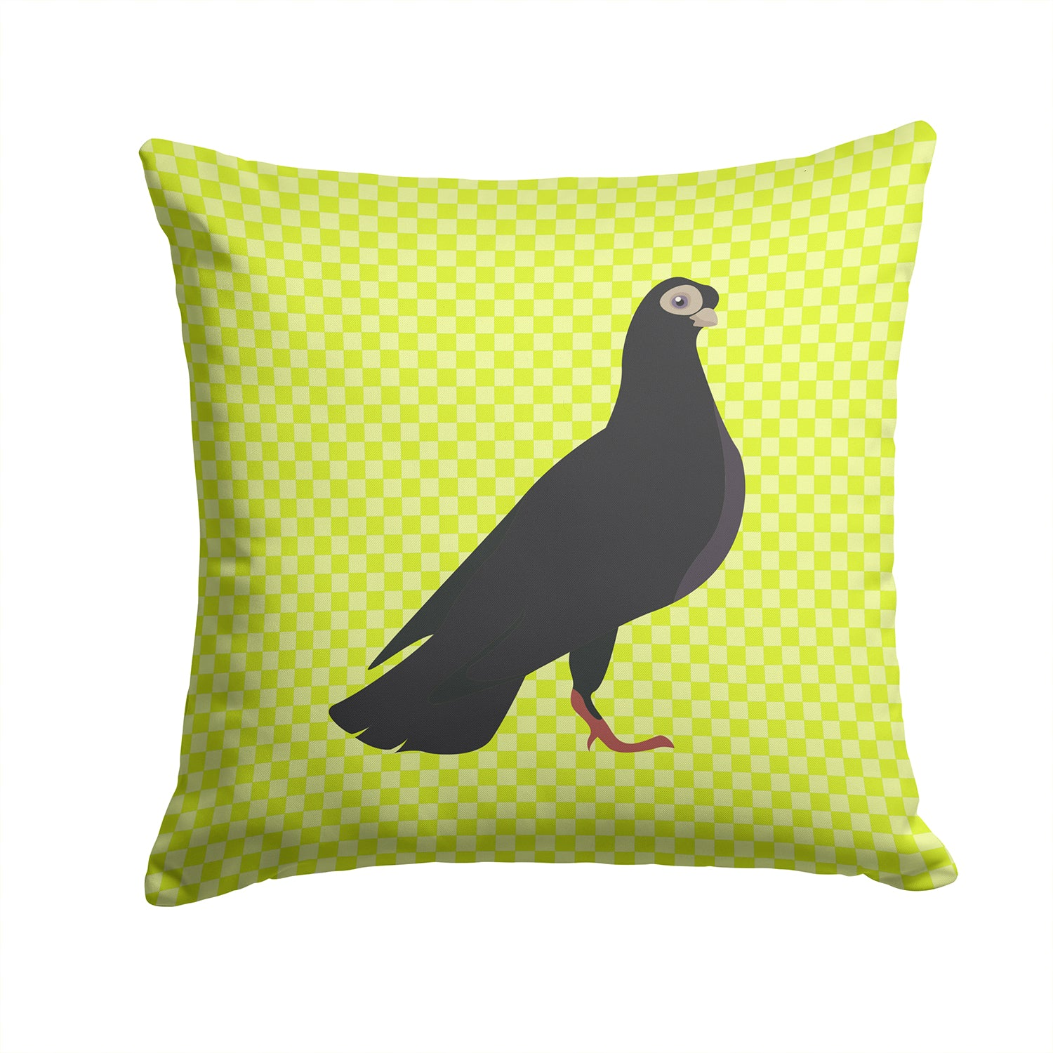 Buy this Budapest Highflyer Pigeon Green Fabric Decorative Pillow BB7773PW1414
