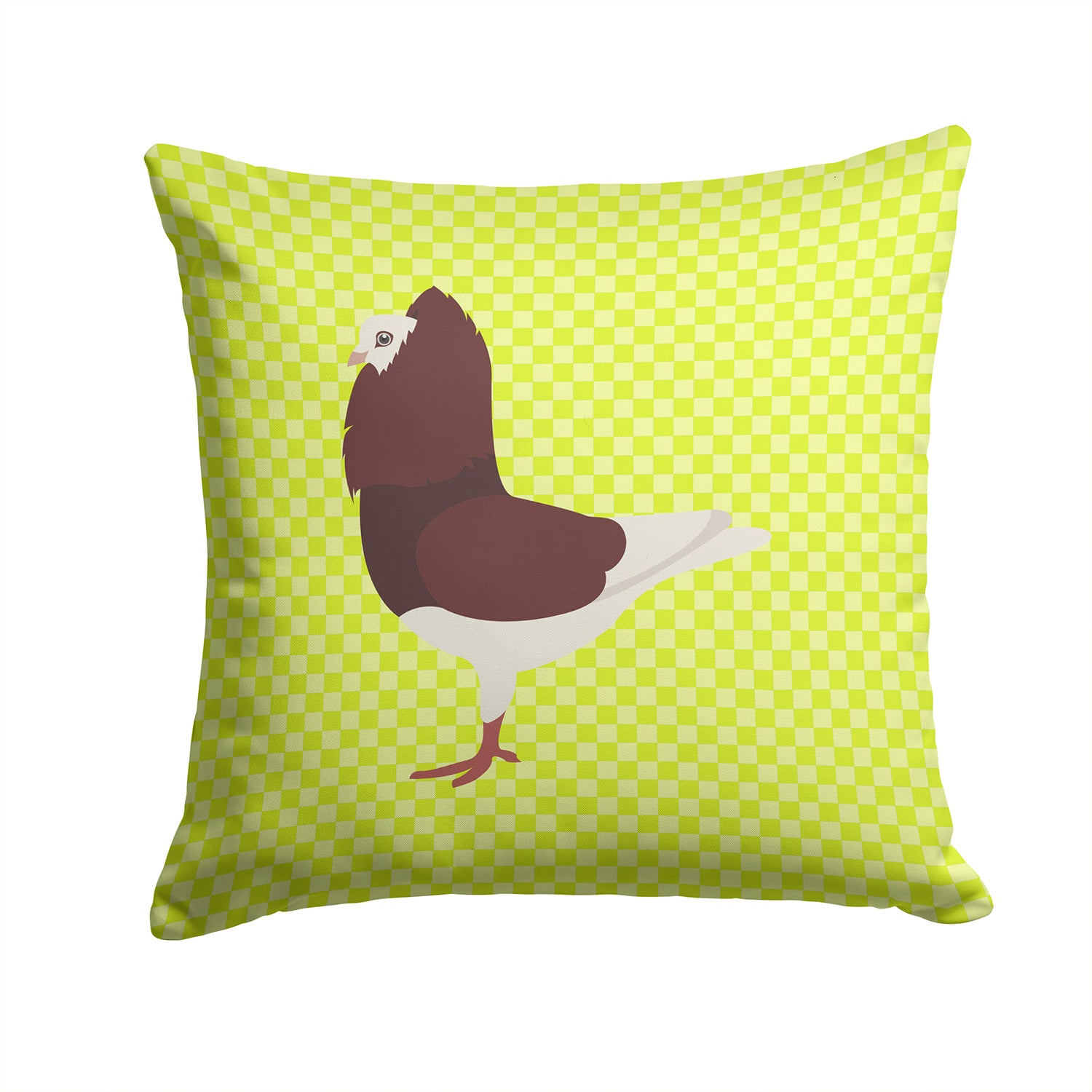 Buy this Capuchin Red Pigeon Green Fabric Decorative Pillow BB7774PW1414